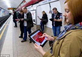 Wifi Access on London Underground