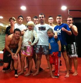 Core Telecom supports kick boxing club